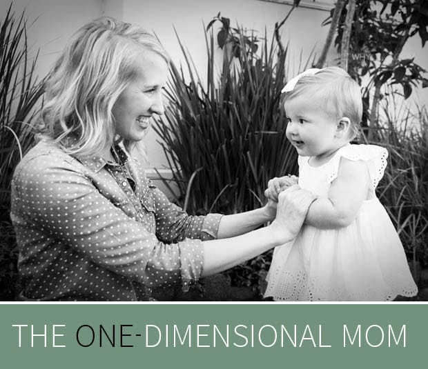 The One-Dimensional Mom by Erica Layne