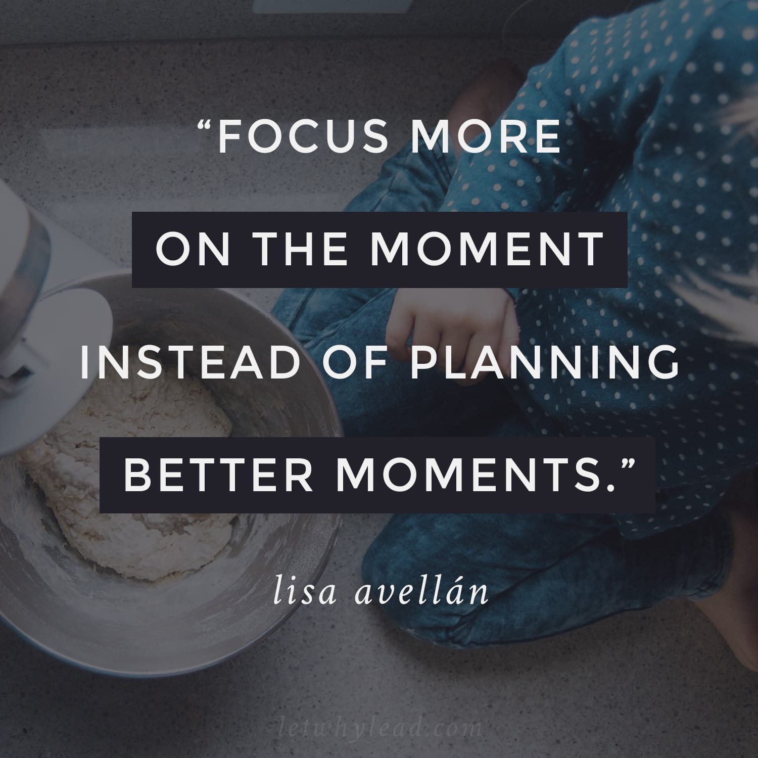 Focus More on the Moment Instead of Planning Better Moments