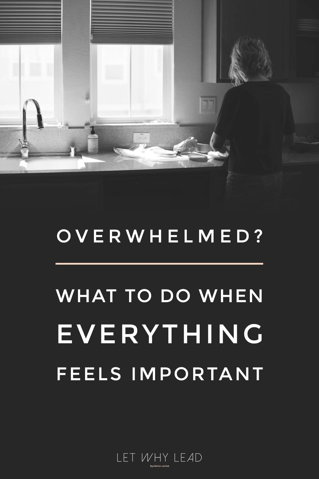 """Have you ever thought—""""I have too many balls in the air, but I can't set any of them down."""" What To Do When Everything Feels Important"""